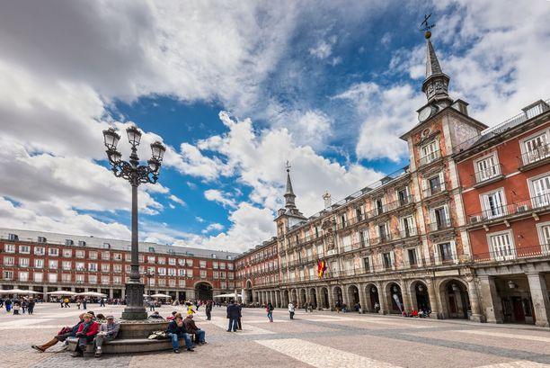 Plaza Mayor on yksi kaupungin pääaukioista.
