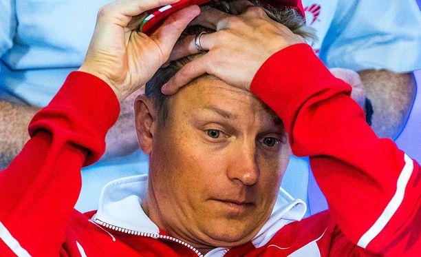 Kimi Räikkönen kommentoi kakkakommenttiaan Martin Brundlelle.