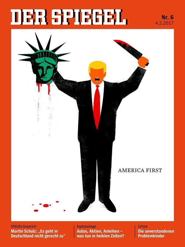 Der Spiegel -lehden tuoreimman numeron kansikuva on herättänyt pahennusta Saksassa.