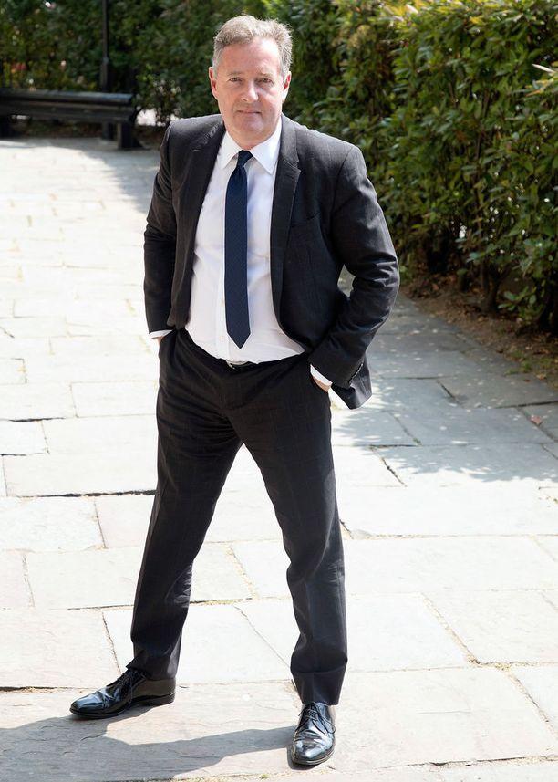Piers Morgan on Good Morning Britain -aamutelevisio-ohjelman juontaja.