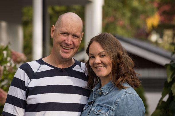 Juhanilla ja Lindalla on yhteensä viisi lasta.