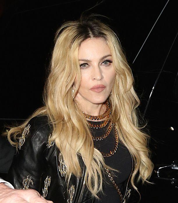 Rohkeasta tyylistään tunnettu Madonna ei arkaillut vartaloaan edes parikymppisenä.