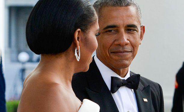 Barack Obaman rakastava katse vaimonsa suuntaan on jo suorastaan kuuluisa.