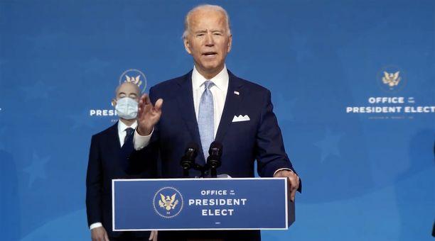 Biden astuu virkaansa tammikuussa.