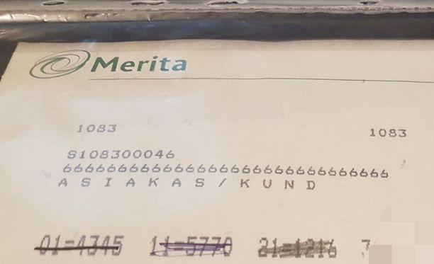Ville hämmästyi: appiukon 20 vuotta vanhat Meritan verkkopankkitunnukset toimivat yhä