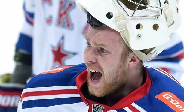 KHL:n viime kauden paras maalivahti, SKA:n hallitseva mestari Mikko Koskinen puuttui fanien käytökseen.