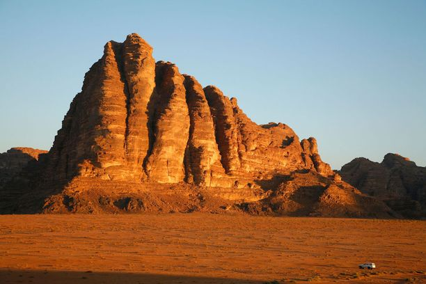 Jordanian Wadi-Rumin maisemat ovat kuuluisia.