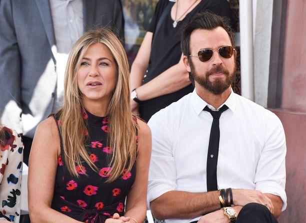 Jennifer Anistonin ja Justin Theroux'n ero sujui molempien mukaan sopuisasti.