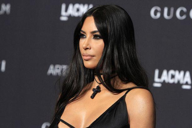 Kim Kardashian LACMA Art + Film -gaalassa marraskuussa.