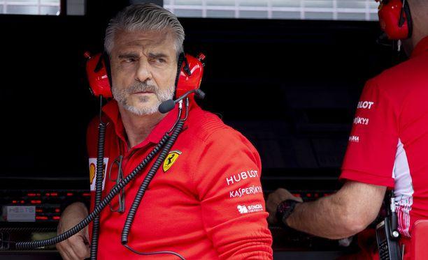 Maurizio Arrivabene haluaa kuljettajilleen työrauhaa.