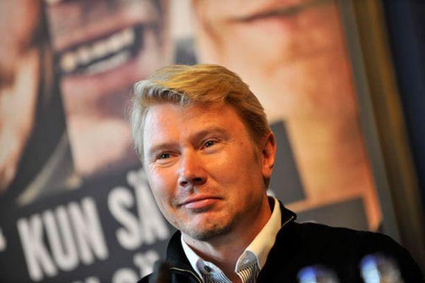 Mika Häkkinen palasi kilparadoille upeasti.