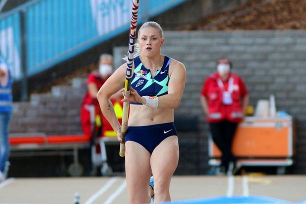 Wilma Murto hyppäsi jälleen Suomen mestariksi.
