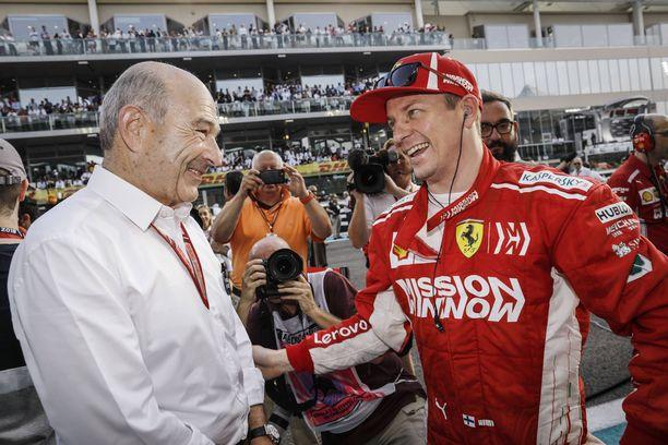 Kimi Räikkönen esiintyi Shellin julkaisemalla videolla vielä Ferrarin kuskina. Ensi kaudella suomalainen on kuitenkin jo Sauberin mies.