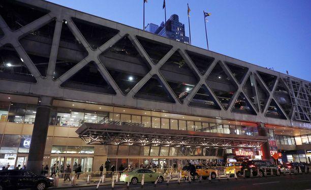 Räjähdys tapahtui lähellä linja-autoasemaa Manhattanilla.