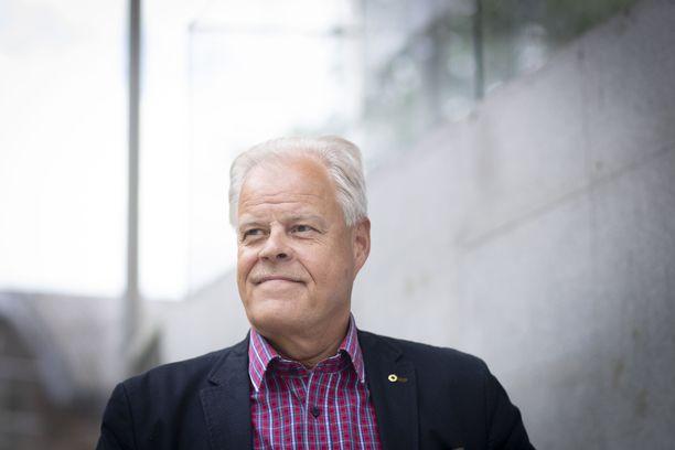 OAJ:n puheenjohtaja Olli Luukkainen.