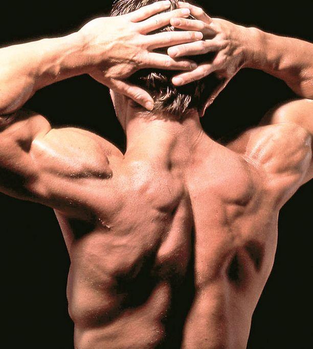 LIIKAA BODATTU Ylibodatut lihaskimput eivät sytyttäneet raadin naisia. Muskelimiehen vartalo jäi kisassa toiseksi viimeiseksi.