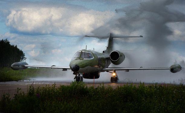 HS:n mukaan lähes kaksi kolmasosaa lennettiin Learjet-suihkukoneilla.