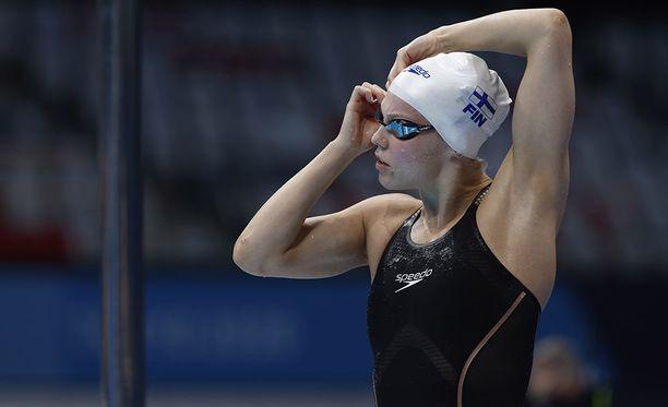 Fanny Teijonsalo ui kahden sadasosan päähän Suomen ennätyksestä.