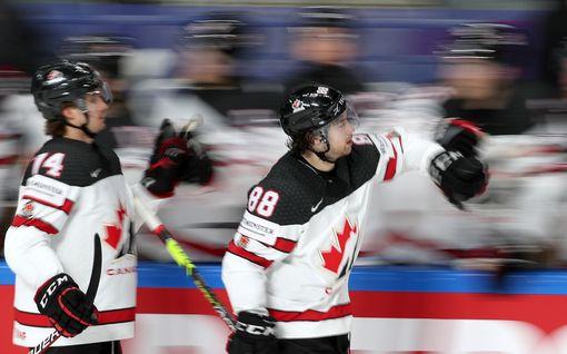 Kanada rynni finaaliin! USA taipui tiukassa kamppailussa