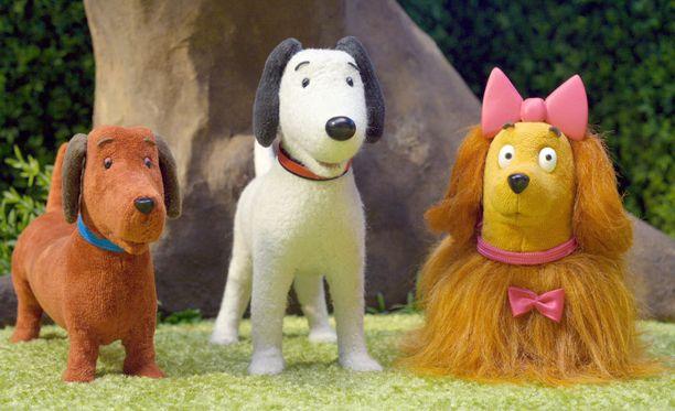Topi, Rikke ja Henrietta tavataan kaikkiaan 26 jaksossa.