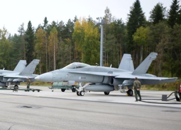 Onnettomuus tapahtui Rissalan varuskunta-alueella, jossa sijaitsee Karjalan lennoston päätukikohta (arkistokuva),