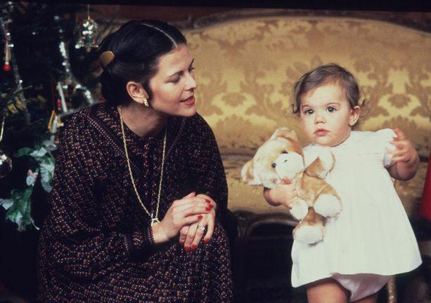 Joulunviettoa prinsessa Victorian kanssa.