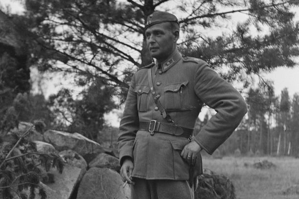 Majuri Antti Hänninen johti Pohjois-Satakunnan suojeluskuntapiirin asekätkentää.