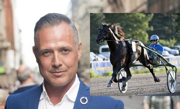 Marko Björs voitti takavuosina Vermon vappuraveissa ison summan rahaa. Kuvan hevonen ei ole se, jota Björs tuolloin veikkasi.