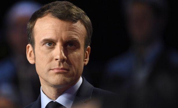 Ranskan presidentti Emmanuel Macron on onnistunut erityisesti ulkopolitiikan hoidossa.