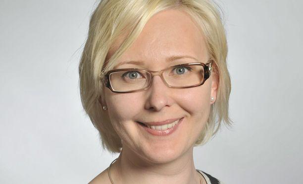 Kansanedustaja Maria Lohela (PS)