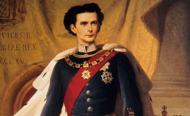 Muotokuvassa oikea Ludvig II.