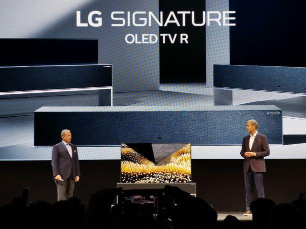 LG Signature toimii myös kaiuttimena.