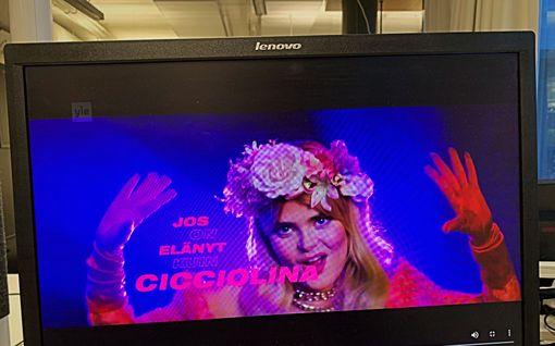 Mitä ihmettä, UMK? Nyt myös Euroviisu-ehdokas Erika Vikmanin hävytön Cicciolina julkaistiin etukäteen