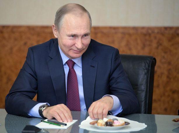 Vladimir Putin valitaan sunnuntaina neljännelle kaudelle Venäjän johtoon.