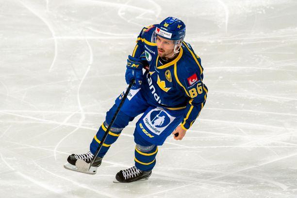 Mathias Bromé siirtyy tulevaksi kaudeksi Pohjois-Amerikkaan.
