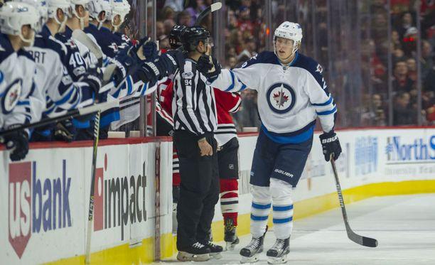 Tappara-kasvatti Patrik Laine ponkaisi NHL:ään Liigan viime kevään pudotuspelien parhaana pelaajana.