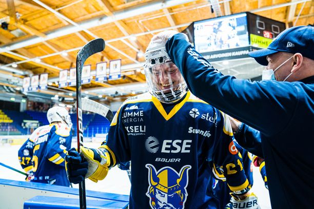 Axel Rindell pelaa Mikkelissä kolmatta kautta.
