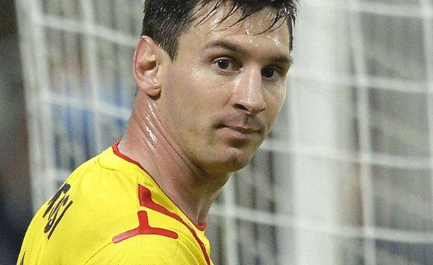 Lionel Messi ärähti.