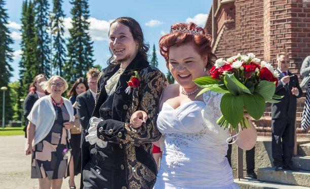 Unelmahäät-ohjelman tuoreimman jakson Sonja ja Eetu ovat ihastuttaneet katsojia.