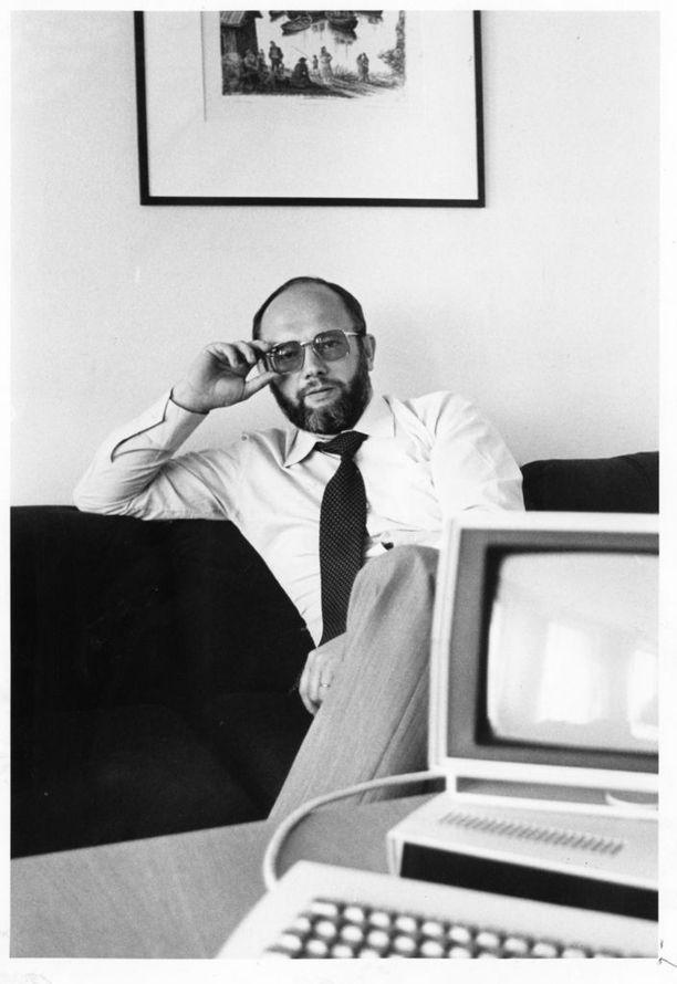 Widomski heinäkuussa 1982 Kauppalehden haastattelussa.