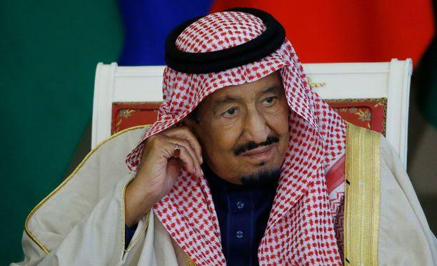 Palatsi on kuningas Salmanin virallinen residenssi.