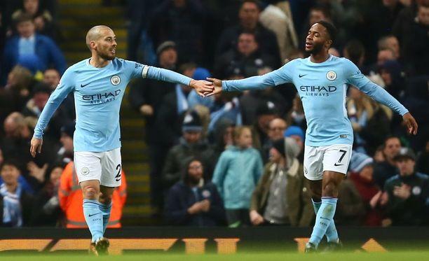Manchester City venytti voittoputkeaan jo 13 ottelun mittaiseksi.