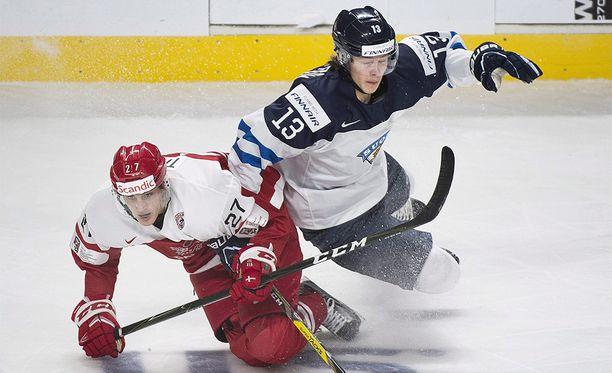 Henrik Borgström (oik.) on kypsynyt pelaajana Denverin yliopistossa kahden kauden ajan.