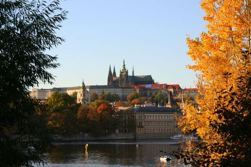 Prahassa on kaunista syksylläkin.
