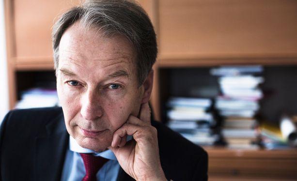 Jussi Järventaus on toiminut Suomen Yrittäjien toimitusjohtajana vuodesta 1996.