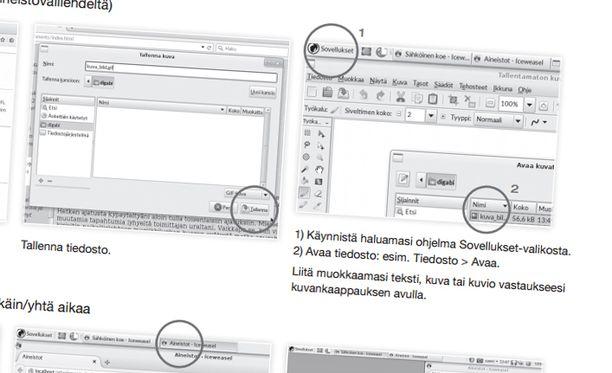 Sähköisestä ylioppilaskokeesta järjestettiin oppilaille harjoituksia viime keväänä. Kuva on ruutukaappaus harjoituksen ohjemateriaalista. Materiaali löytyy osoitteesta ylioppilastutkinto.fi