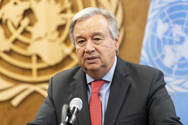 Antonio Guterres haluaa tekijät vastuuseen Khashoggin kuolemasta.