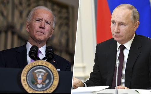 Biden ja Putin keskustelivat ensimmäistä kertaa: sopu ydinasesopimuksen jatkosta, myös Navalnyi esillä