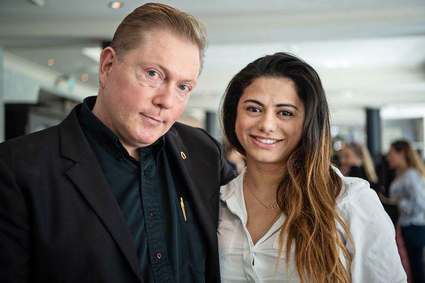 Vesa ja Jane Keskinen ovat olleet naimisissa kuusi vuotta.