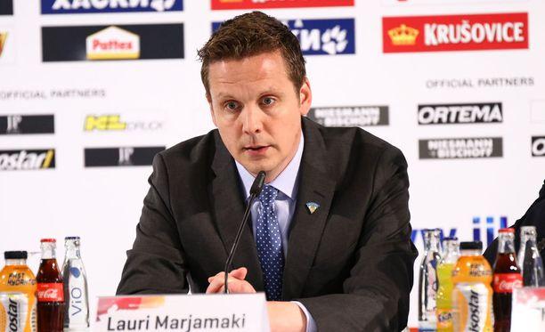 Lauri Marjamäen Leijonat kohtaa MM-välierässä Ruotsin.